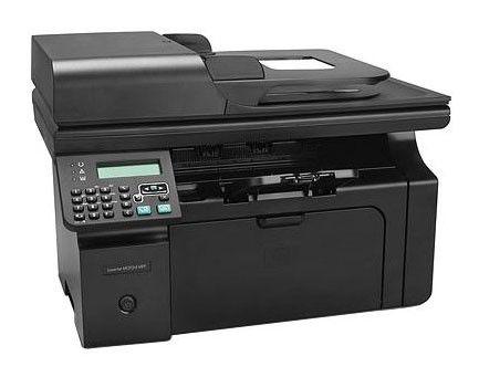 МФУ HP LaserJet Pro M1212nf,  A4,  лазерный,  черный [ce841a]