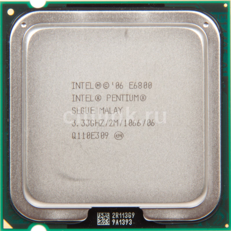 Процессор INTEL Pentium Dual-Core E6800, LGA 775 OEM [at80571ph0932mlslgue]