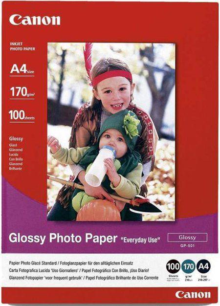 Бумага Canon GP-501 0775B001 A4/170г/м2/100л./белый глянцевое для струйной печати