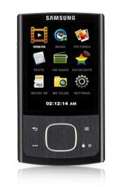 MP3 плеер SAMSUNG YP-R0EB flash 16Гб черный [yp-r0eb/xer]