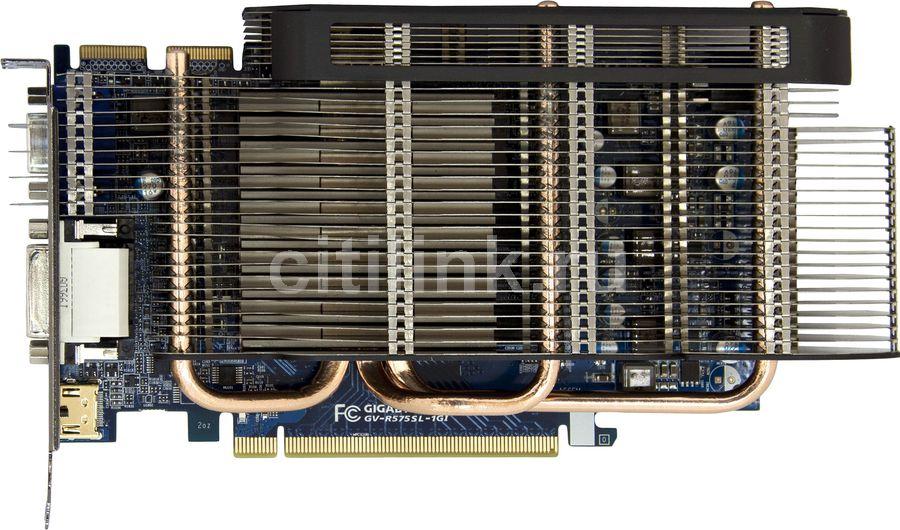 Видеокарта GIGABYTE Radeon HD 5750,  1Гб, GDDR5, Ret [gv-r575sl-1gi]