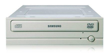 Оптический привод DVD-ROM SAMSUNG SH-D163С/BEBE, внутренний, SATA, белый,  OEM