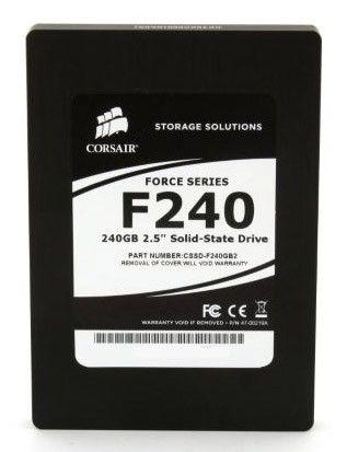 Накопитель SSD CORSAIR Force CSSD-F240GB2-BRKT 240Гб, 2.5