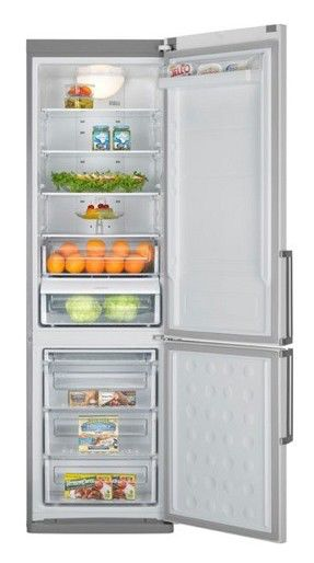 Холодильник SAMSUNG RL44ECPB1,  двухкамерный,  серый