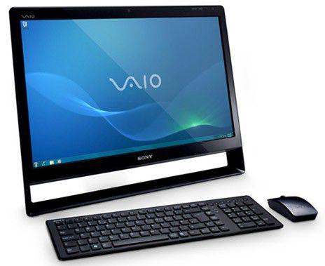 Моноблок Sony VPC-L13S1R/B Q8400S/8G/1Tb/nV GT330M 1G/BR/WiFi/BT/W7HP/24