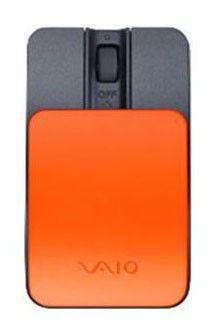 Мышь SONY VGP-BMS15/D лазерная беспроводная оранжевый и черный [vgp-bms15/d.ce]