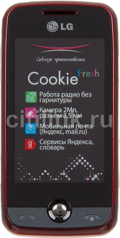 Мобильный телефон LG GS 290  красный