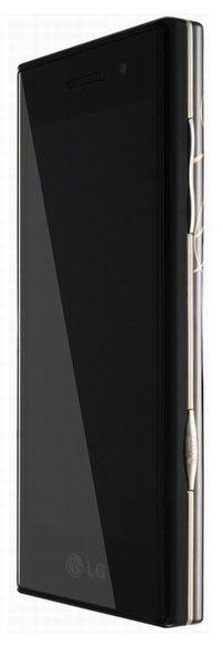 Мобильный телефон LG BL 40,  золотистый