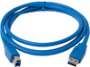 Кабель USB 3.0 CABLE AM-BM 1.5M(Б/У) вид 1