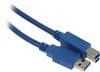 Кабель USB3.0  USB 3.0 A(m) -  USB 3.0 B (m),  1.5м,  синий вид 1