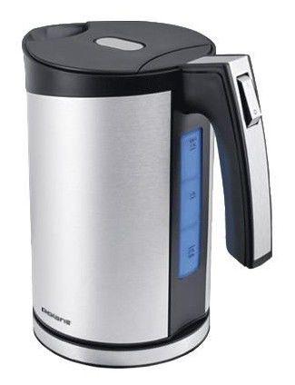 Чайник электрический POLARIS PWK1567CAL, 2200Вт, серебристый и черный