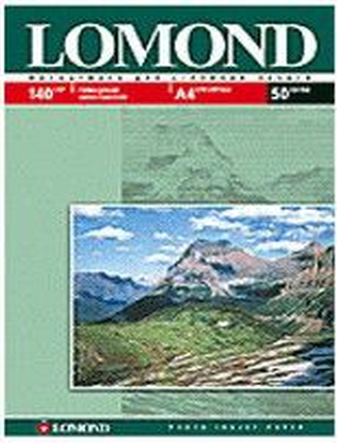 Бумага Lomond 0102066 A3/140г/м2/50л./белый глянцевое для струйной печати