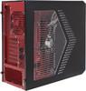 Корпус ATX AEROCOOL Rs-9 Devil, Midi-Tower, без БП,  черный и красный вид 8