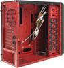 Корпус ATX AEROCOOL Rs-9 Devil, Midi-Tower, без БП,  черный и красный вид 11