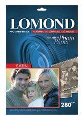 Фотобумага Lomond 1104230 A3/280г/м2/20л. сатин для струйной печати