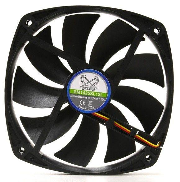 Вентилятор SCYTHE Slip Stream SM1425SL12L,  140мм, Ret