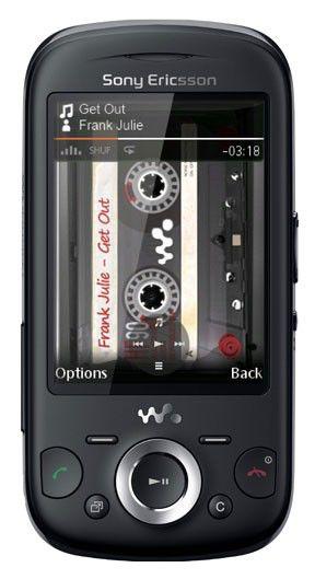 Музыкальный телефон SONYERICSSON Zylo W20i  черный