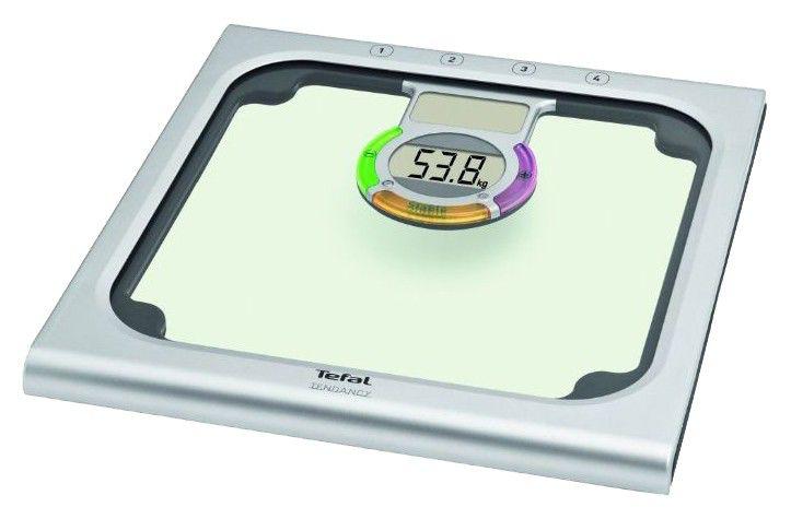 Весы TEFAL PP6000B1, до 160кг, цвет: серебристый [2100057492]