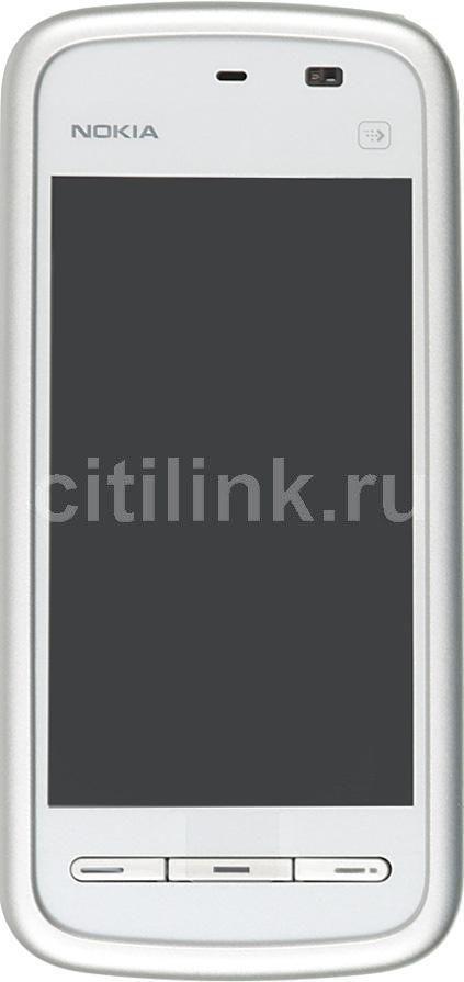 Смартфон NOKIA 5228  белый/голубой