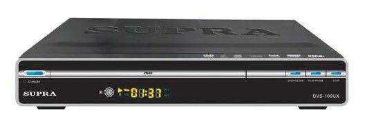 DVD-плеер SUPRA DVS-109UX,  черный