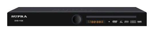 DVD-плеер SUPRA DVS-113X,  черный