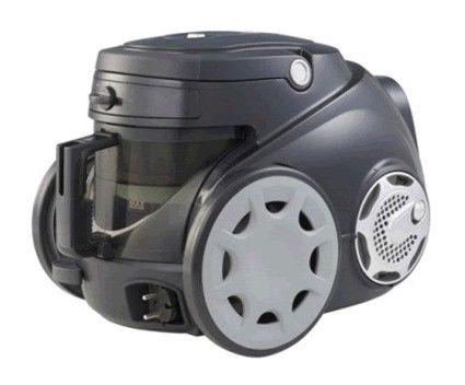 Пылесос LG VC6717S, 1700Вт, черный/серый