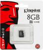 Карта памяти microSDHC KINGSTON 8 ГБ, Class 4, SDC4/8GBSP,  1 шт. вид 1