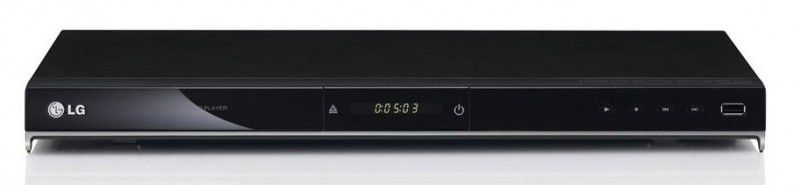 DVD-плеер LG DVX-530,  черный