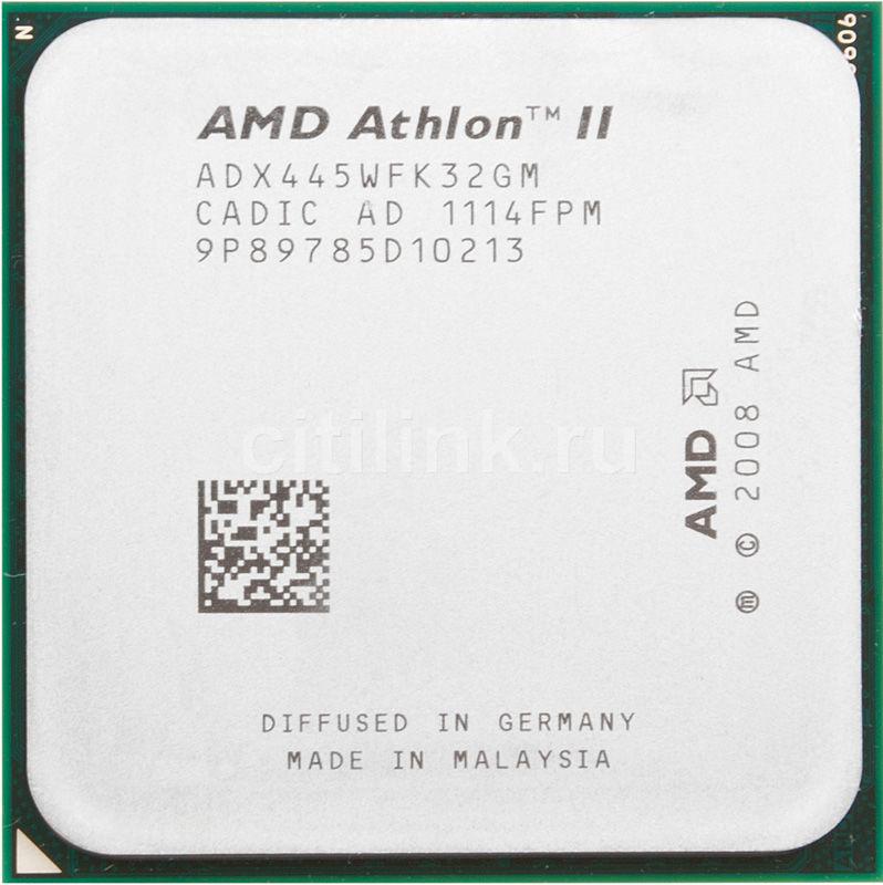 Процессор AMD Athlon II X3 445, SocketAM3 OEM [adx445wfk32gm]