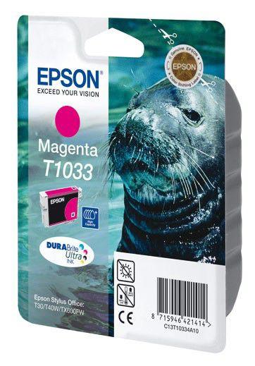 Картридж EPSON T1033 пурпурный [c13t10334a10]