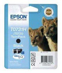Двойная упаковка картриджей EPSON C13T10414A10 черный