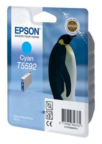 Картридж EPSON C13T55924010 голубой