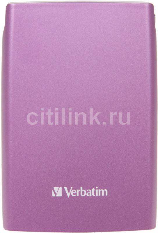 Внешний жесткий диск VERBATIM Store n Go 500Гб, розовый [53010]