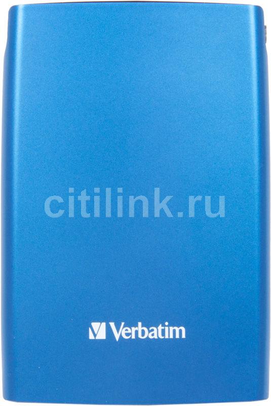 Внешний жесткий диск VERBATIM Store n Go 500Гб, синий [53011]