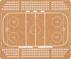 Коврик для мыши PC PET MP-CKH CorkArt (Hockey) коричневый [mp-ckh cork hockey] вид 1