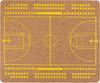 Коврик для мыши PC PET MP-CKB CorkArt (BasketBall) коричневый/рисунок [mp-ckb cork bskbl] вид 1