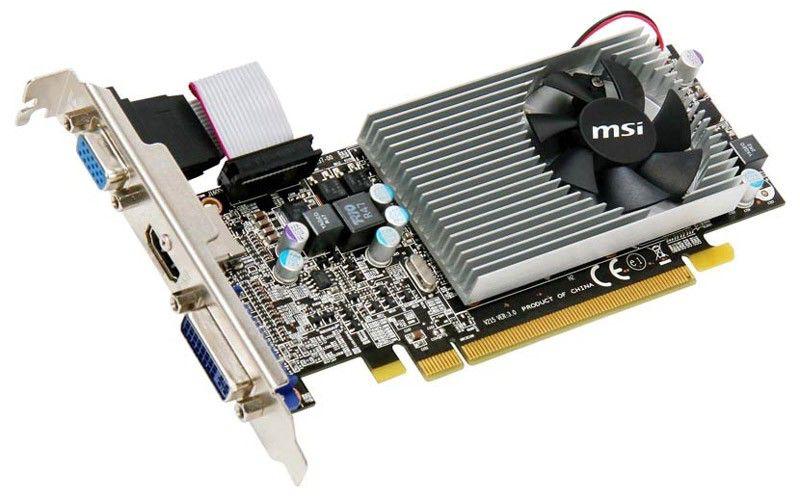Видеокарта MSI Radeon HD 5570,  1Гб, DDR3, Low Profile,  Ret [r5570-md1g]