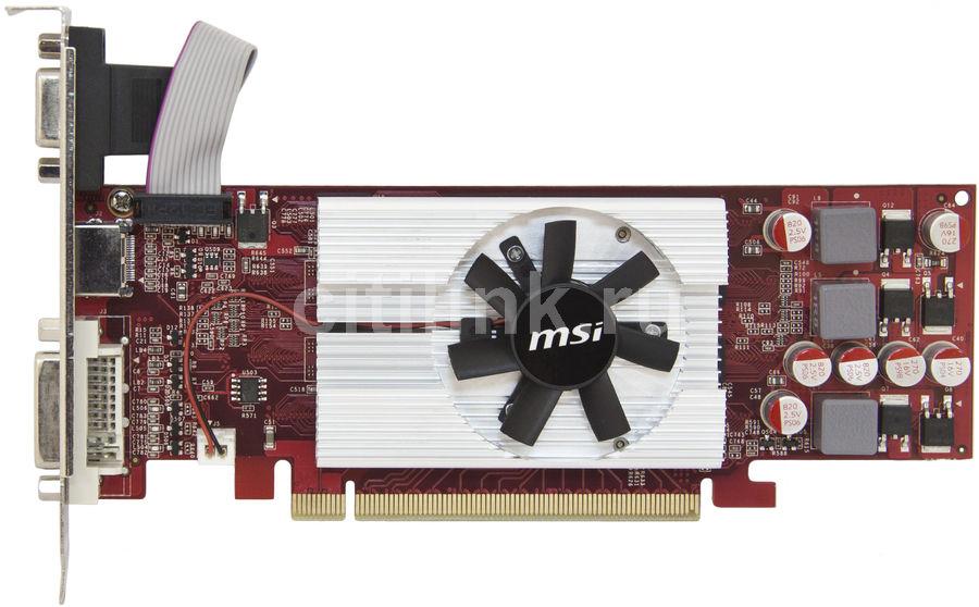 Видеокарта MSI GeForce GT 220,  512Мб, DDR3, Low Profile,  Ret [n220gt-md512 d3/lp]