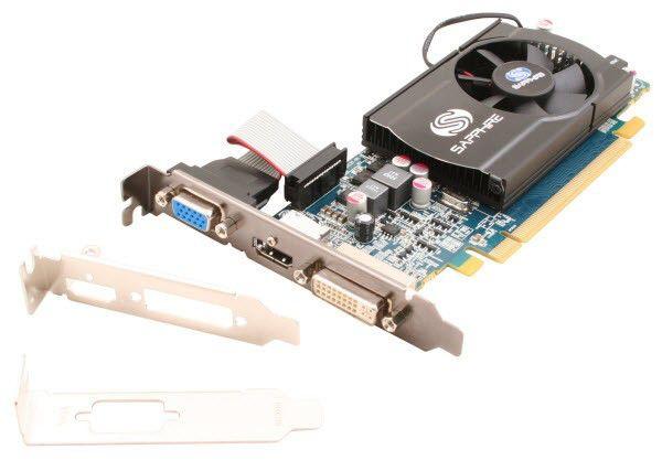 Видеокарта SAPPHIRE Radeon HD 5550,  512Мб, DDR3, oem [11170-xx-10r]