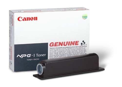 Тонер CANON NPG-1,  для NP-1215/1550/6020/6216,  черный, 4x 190грамм, туба [1372a006]