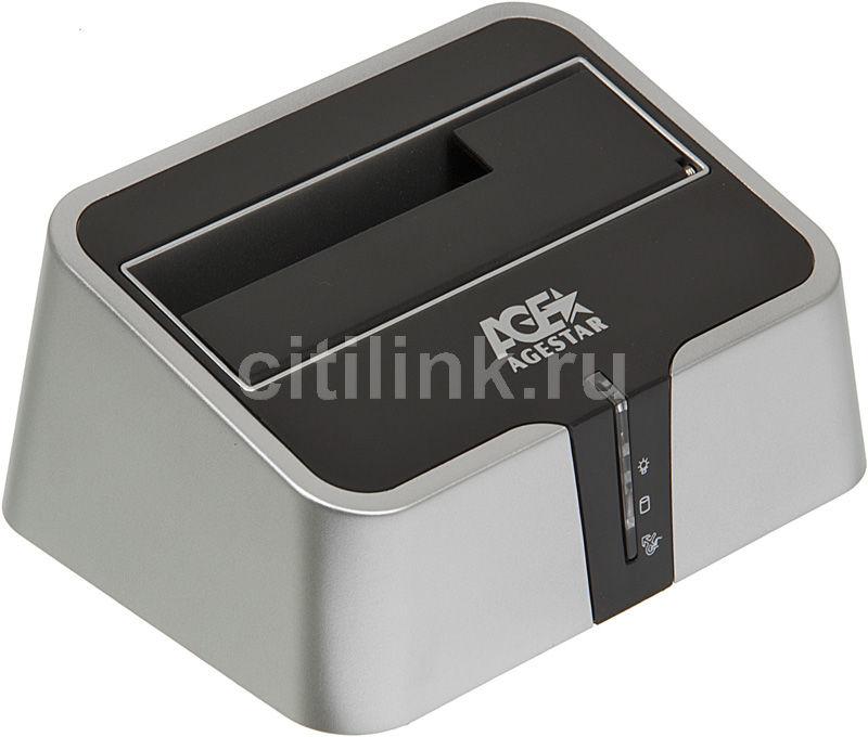 Док-станция для  HDD AGESTAR 3CBT2, серебристый