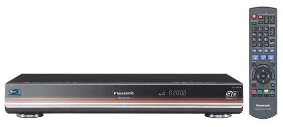 Плеер Blu-ray PANASONIC DMP-BDT300EE, черный