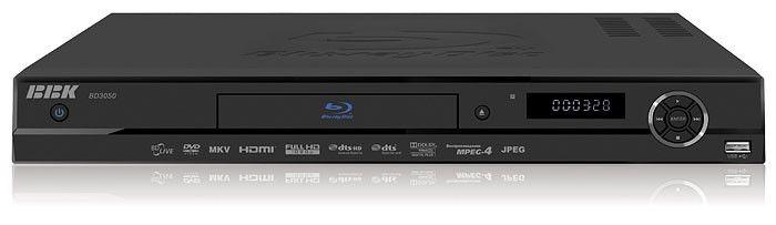 Плеер Blu-ray BBK BD3050, черный