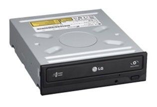 Оптический привод DVD-RW LG GH24NS50, внутренний, SATA, черный,  Ret [gh24ns50.auar10b]