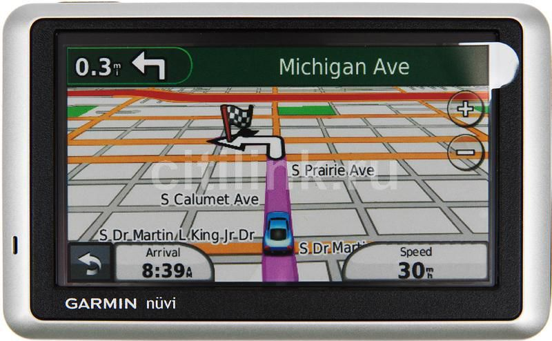 GPS навигатор GARMIN Nuvi 1300T,  4.3