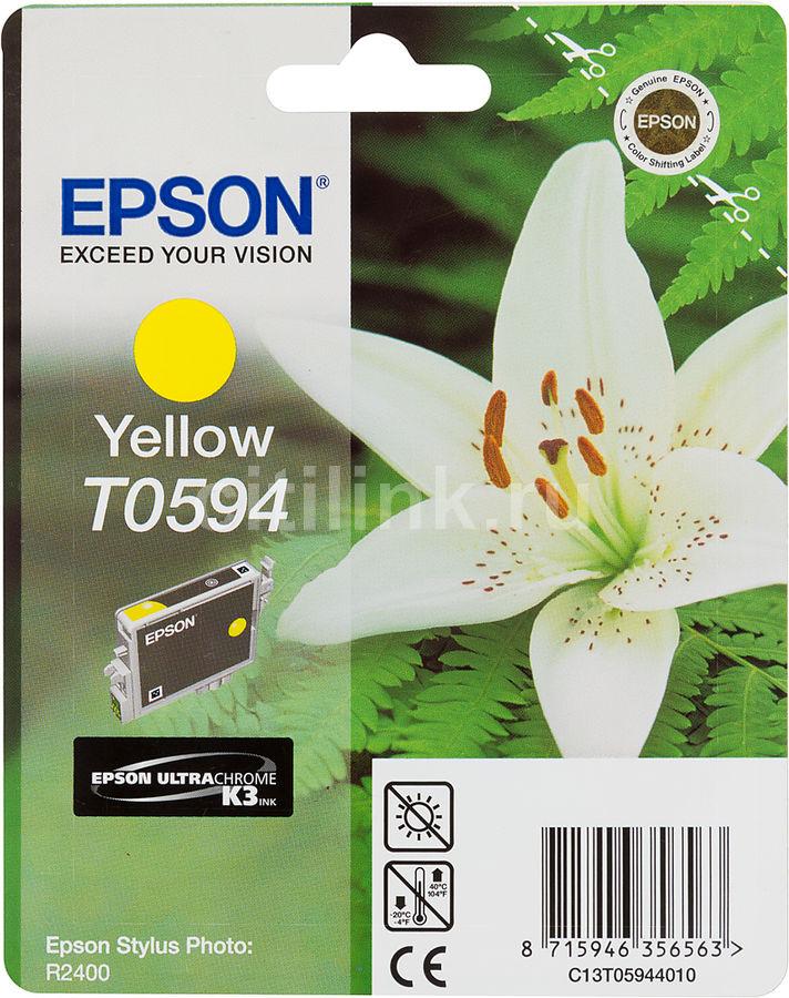 Картридж EPSON T0594 желтый [c13t05944010]