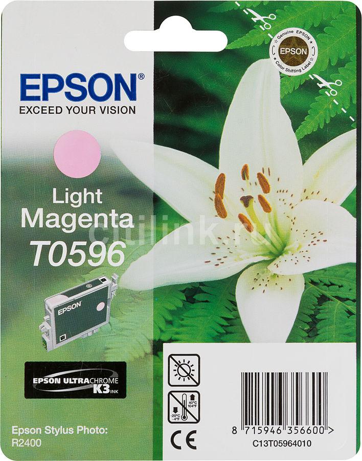 Картридж EPSON C13T059640 светло-пурпурный [c13t05964010]