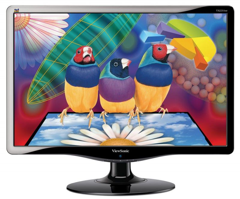 "Монитор ЖК VIEWSONIC VA2231Wa-LED 21.5"", черный"