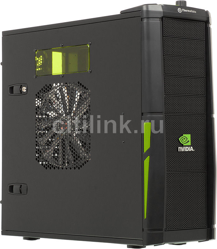 Корпус E-ATX THERMALTAKE Element V VL200N1W2ZA, Full-Tower, без БП,  черный