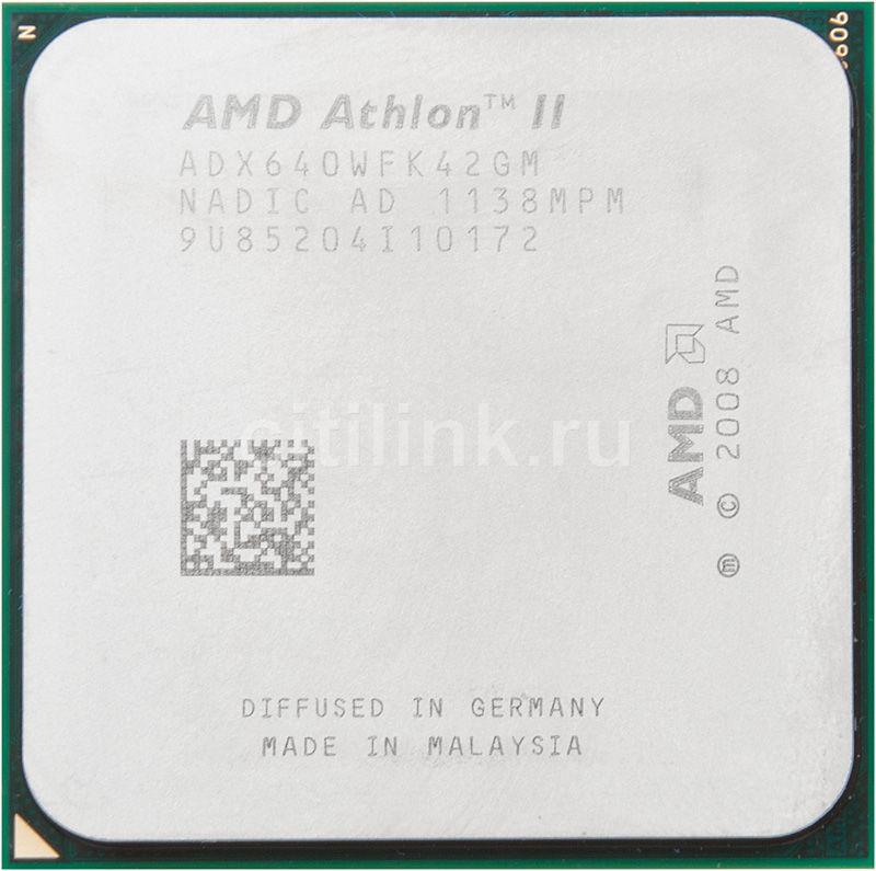 Процессор AMD Athlon II X4 640, SocketAM3 OEM [adx640wfk42gm]